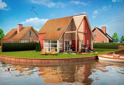 vakantiehuis bungalow weerribben hollandse wieden blokzijl project 6-persoons