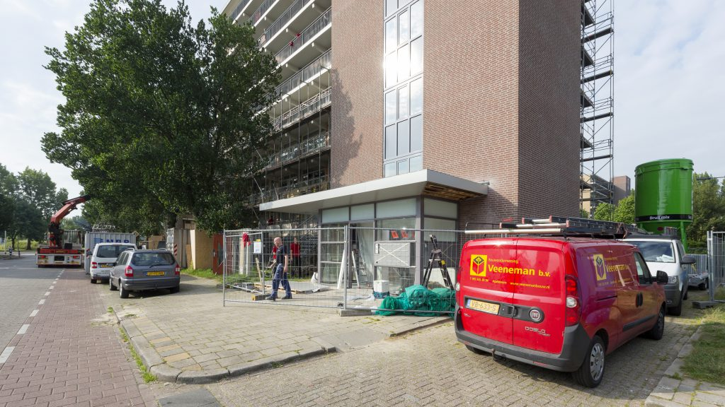 Bouwonderneming Veeneman: project 3 flats in arnhem