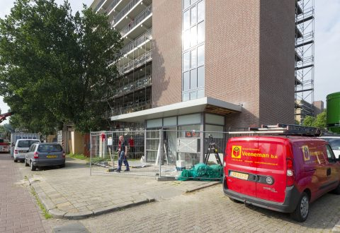Bouwonderneming Veeneman: project 3 flats in arnhem