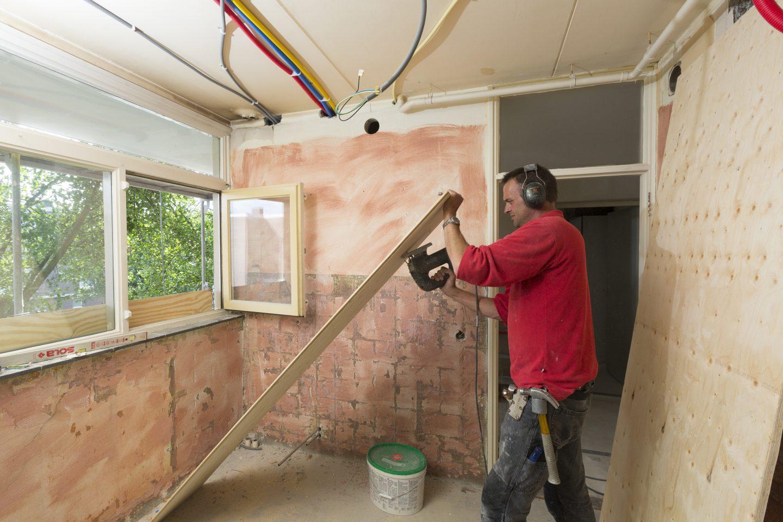 Bouwonderneming Veeneman: project 3 flats in arnhem aan de Bethanienstraat 3