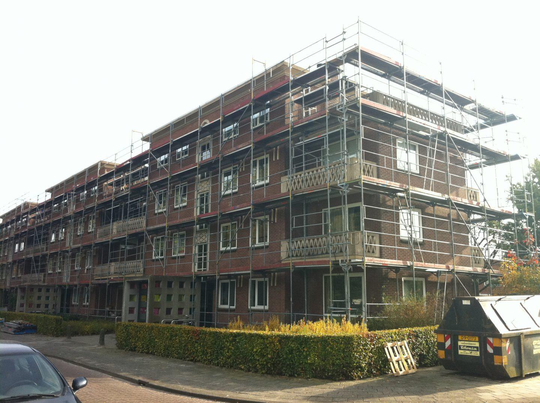 Bouwonderneming Veeneman: project Sprengenparklaan werkzaamheden