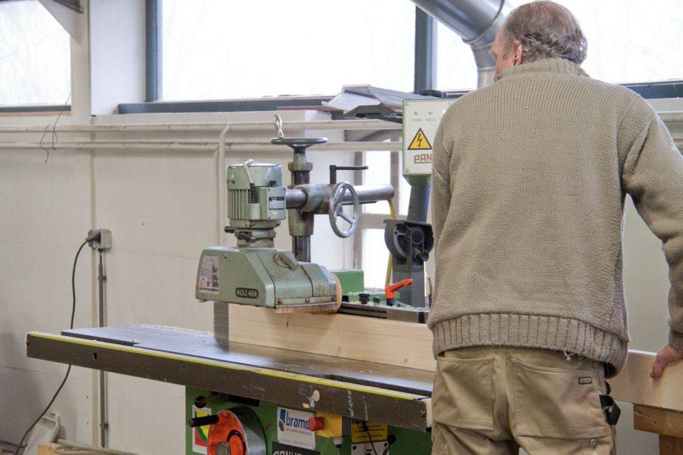 Bouwonderneming Veeneman beschikt over een eigen timmerfabriek